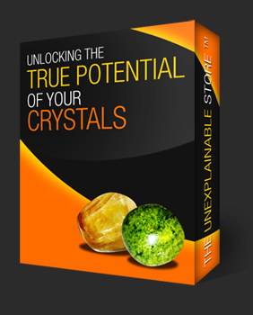 product image of green and yellow crystals