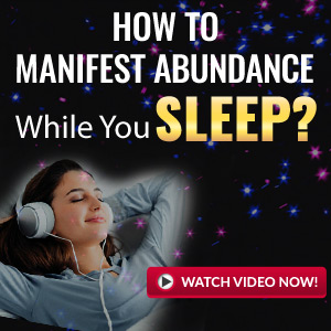 woman with headset asleep use the law of attraction