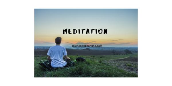 traveling meditation  man meditating in nature