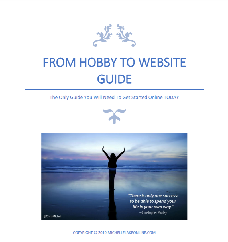 from hobby to website guide