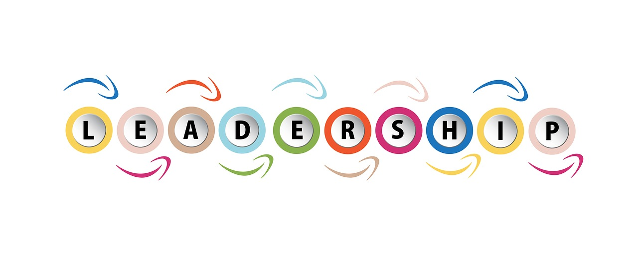 critical leadership skills word written in color circles