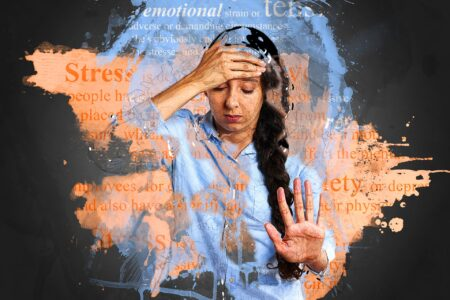 why people fail woman with hand on forehead stressed