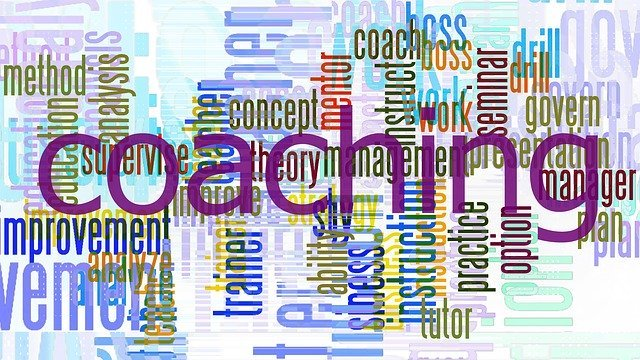 health coaching career, collage of coachin words